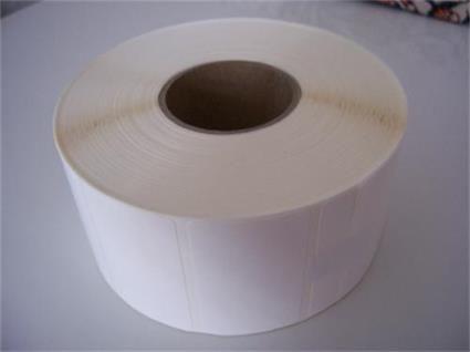 Etikety 50mm x 50mm termo papír ECO, cena za 1000ks/1role/D40
