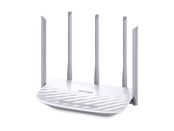 WiFi router TP-Link Archer C60 AC1350 dual AP/router, 4x LAN, 1x WAN, / 450Mbps 2,4/ 867Mbps 5GHz
