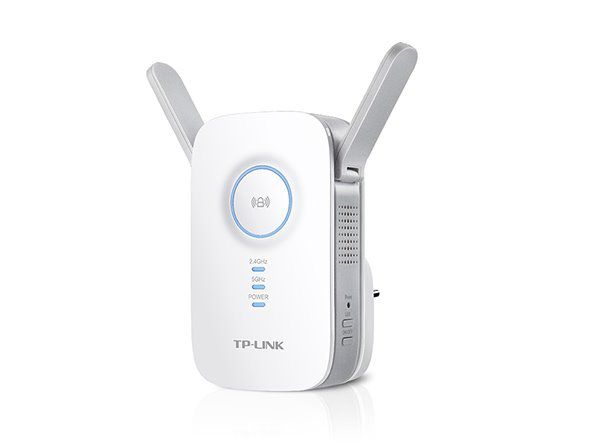 WiFi router TP-Link RE350 AP/Extender/RepeaterAC1200 300Mbps 2,4GHz a 867Mbps 5GHz , fixní anténa