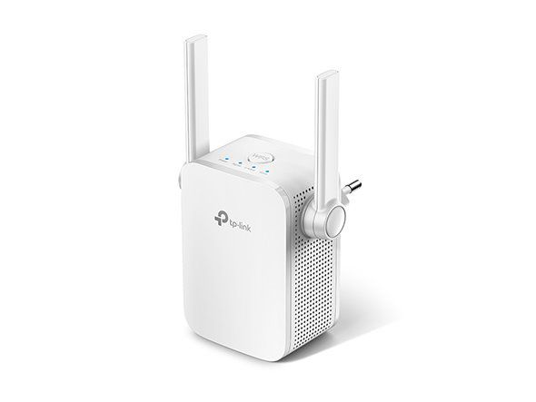 WiFi router TP-Link RE305 AP/Extender/Repeater AC1200 300Mbps 2,4GHz a 867Mbps 5GHz , fixní anténa