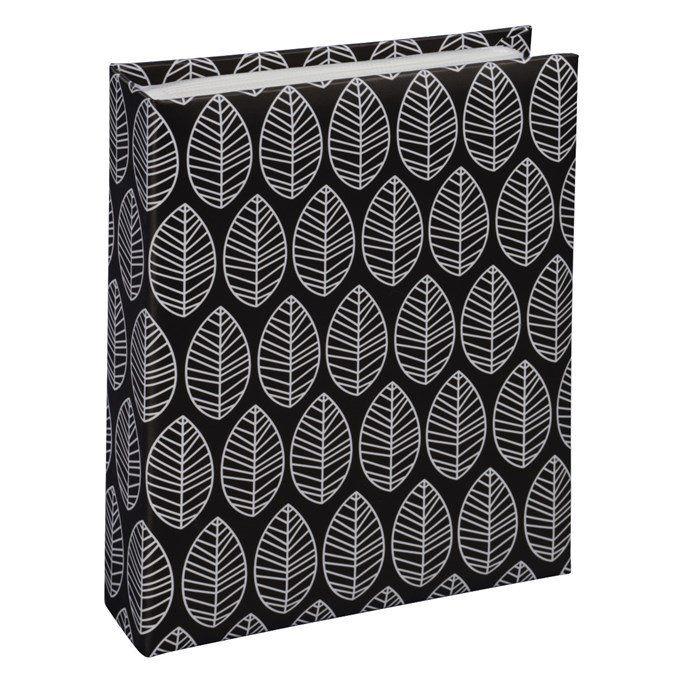 Fotoalbum Hama LA FLEUR 10x15/40, černá, zasouvací