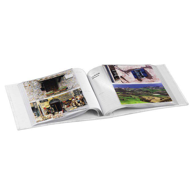 Fotoalbum Hama LA FLEUR 10x15/200, černá, popisové pole, zasouvací