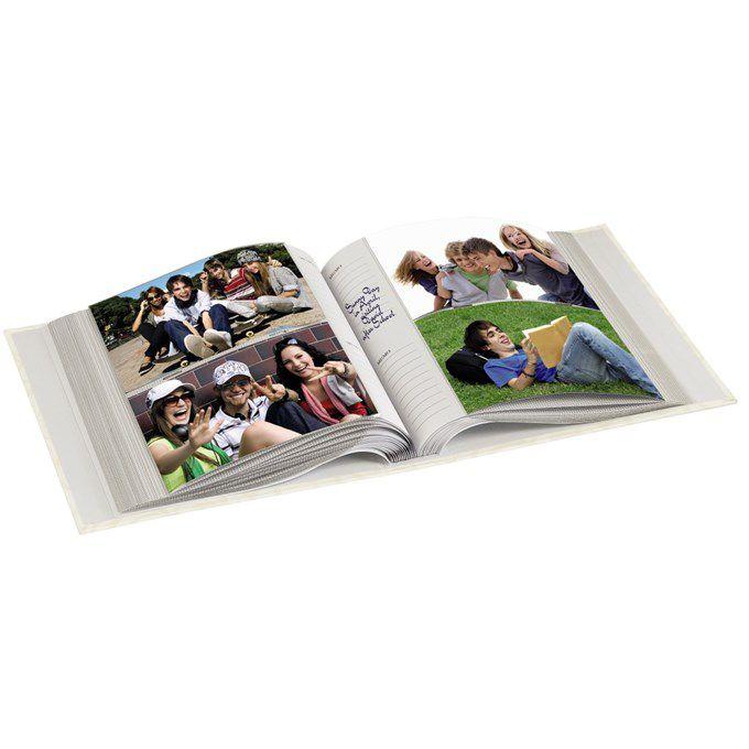 Fotoalbum Hama memo IDYLL 10x15/200, krémová, popisové pole, zasouvací