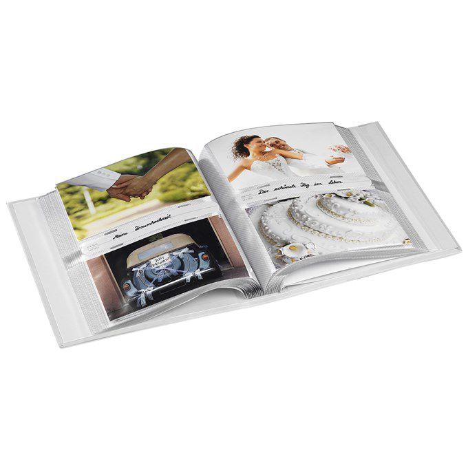 Fotoalbum Hama memo MONY 10x15/200, popisové štítky, zasouvací