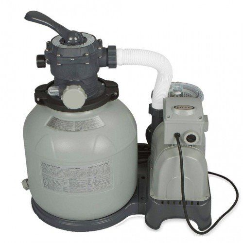 Písková filtrace Intex Krystal Clear 6 m3/h, 370 W