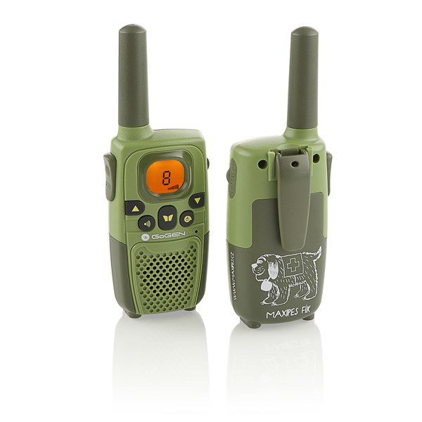 Vysílačka GoGEN MAXI tmavě zelená barva, 2 ks
