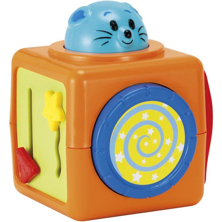 Hračka Buddy toys BBT 3010 tři kostky zvířátka