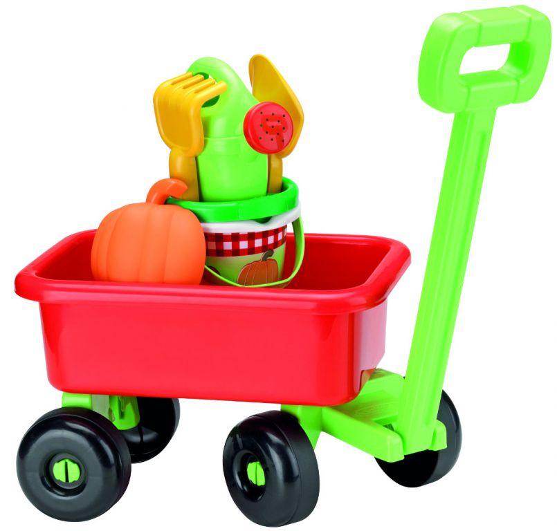 Hračka Ecoiffier Retro vozík s konvičkou a přísl.