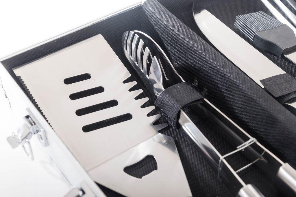 Grilovací nářadí G21 sada 5 ks, hliníkový kufr