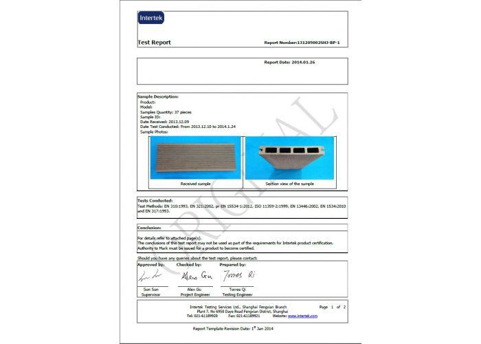 Přechodová lišta G21 pro WPC dlaždice Incana, 38,5x7,5 cm rohová (levá)