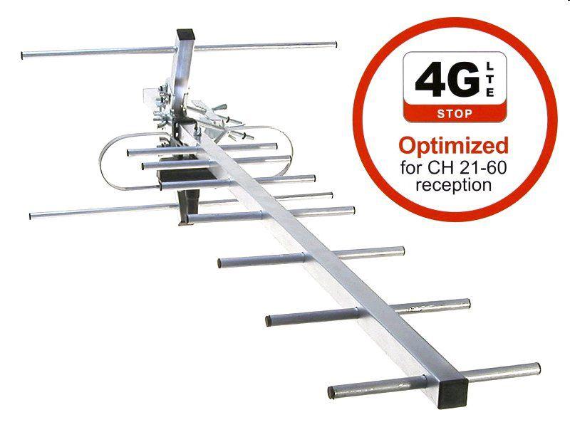 Anténa Maximum DVB-T UHF-10 LTE venkovní pasivní anténa 10 dB, LTE
