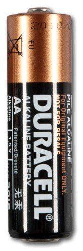Baterie Duracell alkalická 1,5V, LR6 AA, 1 ks