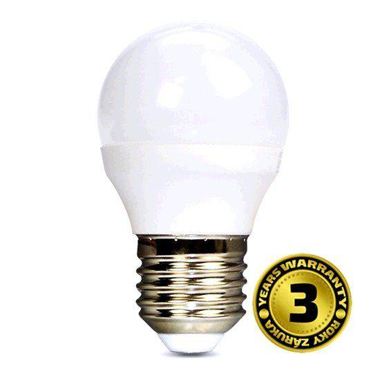 Žárovka Solight LED WZ411 E27, 230V, 4W, 310lm, teplá bílá