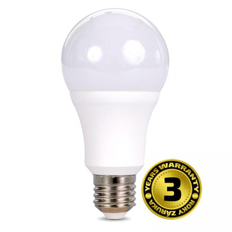 Žárovka Solight LED WZ521 15W, E27, 6000K, 270°, 1220lm, studená bílá