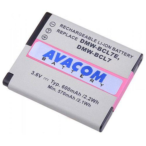 Baterie Avacom Panasonic DMW-BCL7 Li-ion 3.6V 600mAh 2.2Wh - neoriginální