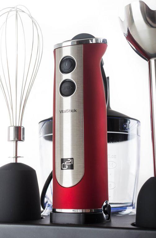 Mixér G21 VitalStick, Red/Black