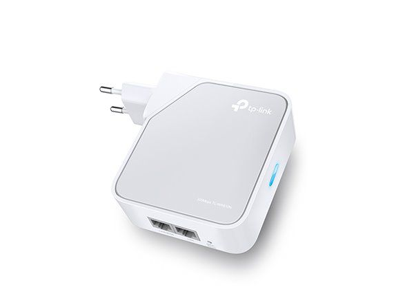 WiFi router TP-Link TL-WR810N Mini pocket AP/router, 1x WAN (2,4GHz, 802.11n) 300Mbps