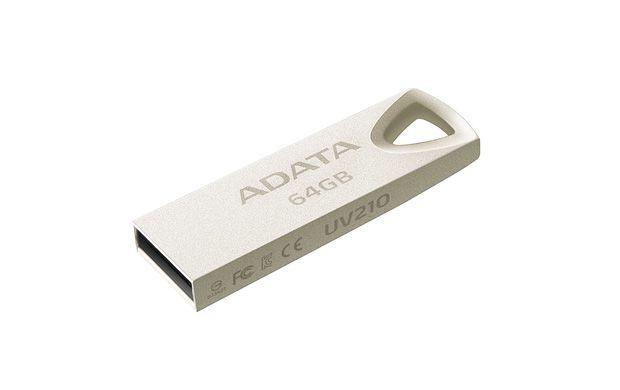 Flashdisk Adata UV210 64GB USB Flash 2.0 kovová