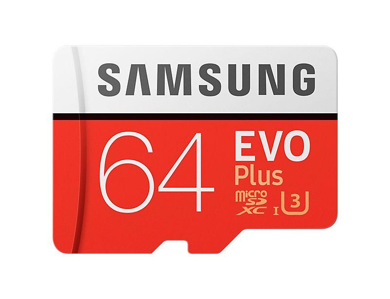 Samsung microSDXC 64GB UHS-I U3 + adaptér MB-MC64GA/EU