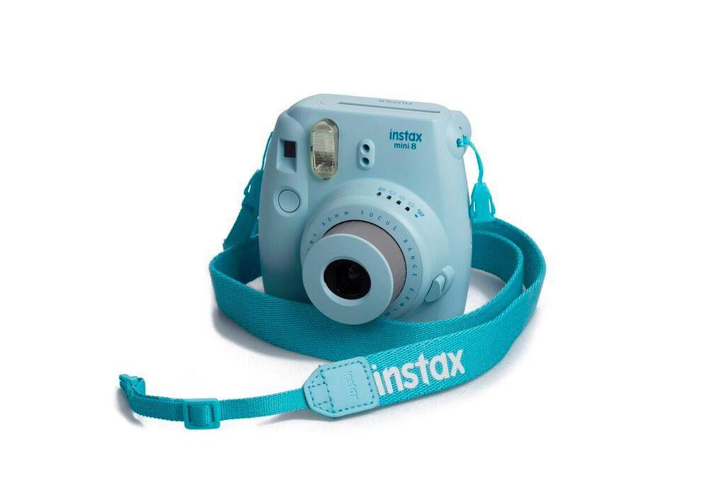 Popruh Fujifilm Instax neck strap Blue