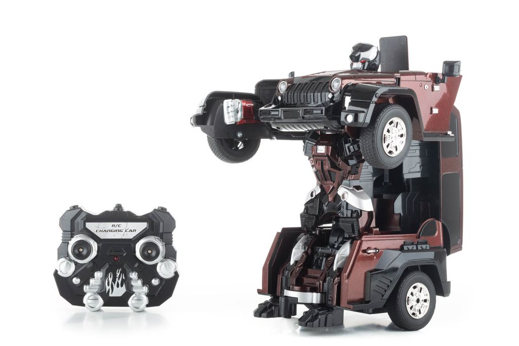 Hračka – robot BROWN ALIEN