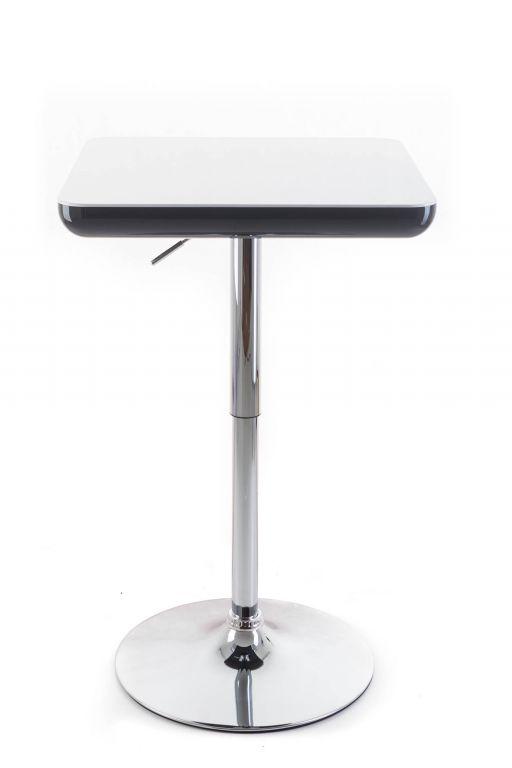 Barový stolek G21 Whieta white/black