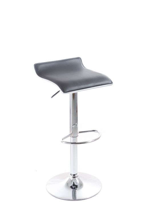 Barová židle G21 Clora black, koženková