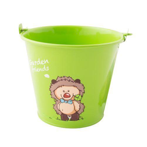 Kbelík zahradní dětský zelený