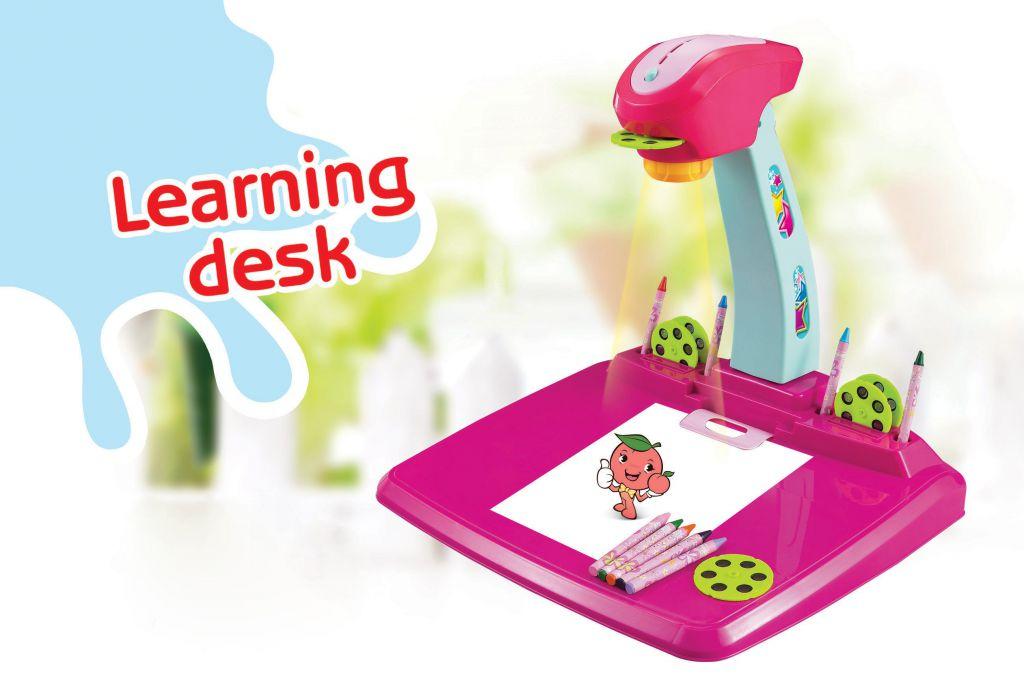 Hračka G21 Kreslicí projektor růžový
