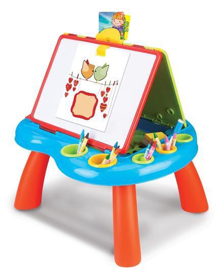 Hračka G21 Kreslicí tabulka na nožičkách oboustranná