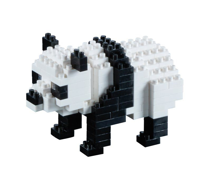 Stavebnice Brixies Panda