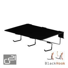 Závěsný systém G21 BlackHook large shelf 60 x 19 x 42 cm