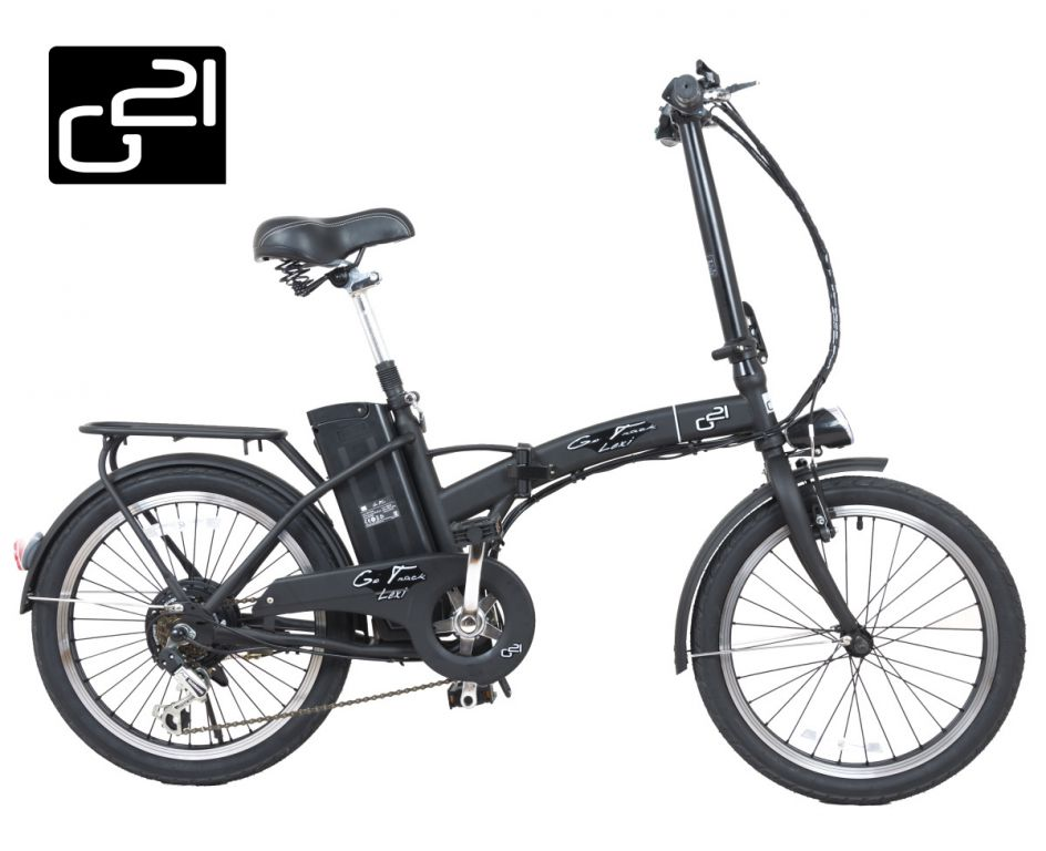 "Elektrokolo G21 Lexi 20"" Graphite Black"