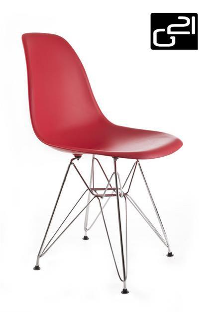Designová židle G21 Teaser Red