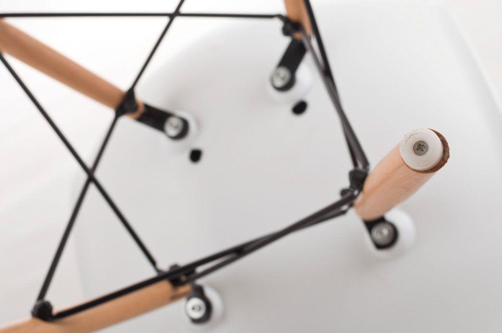 Designová židle G21 Timber White