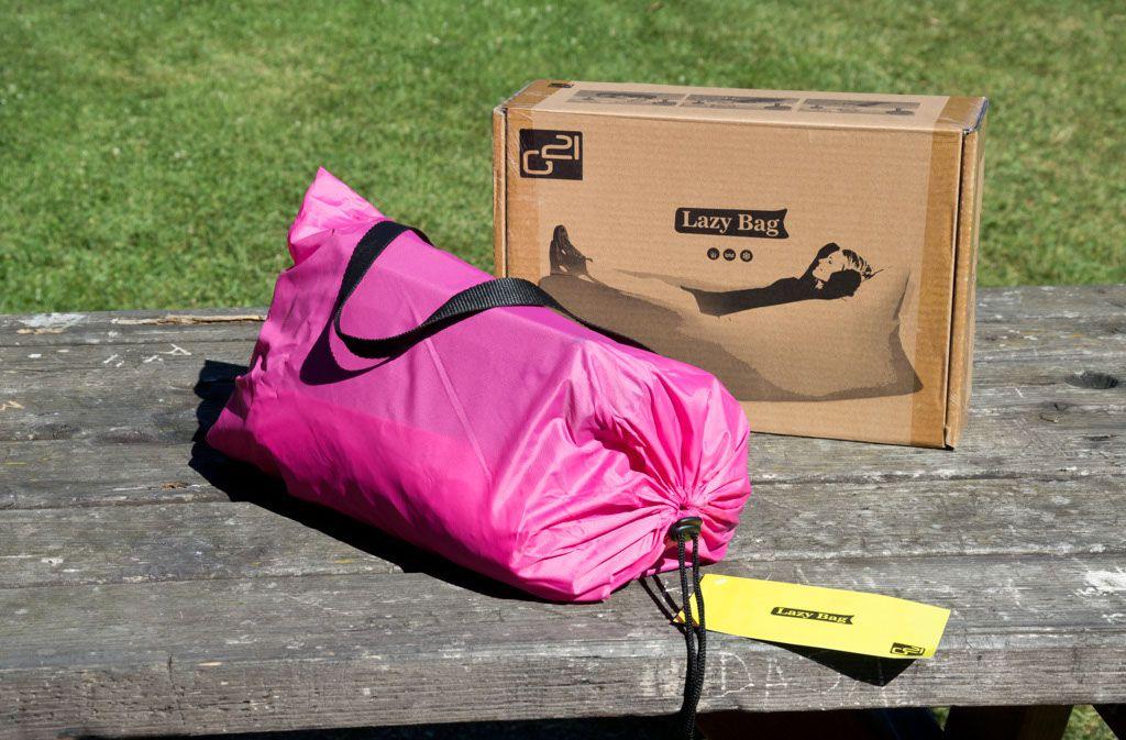 Nafukovací vak G21 Lazy Bag Pink