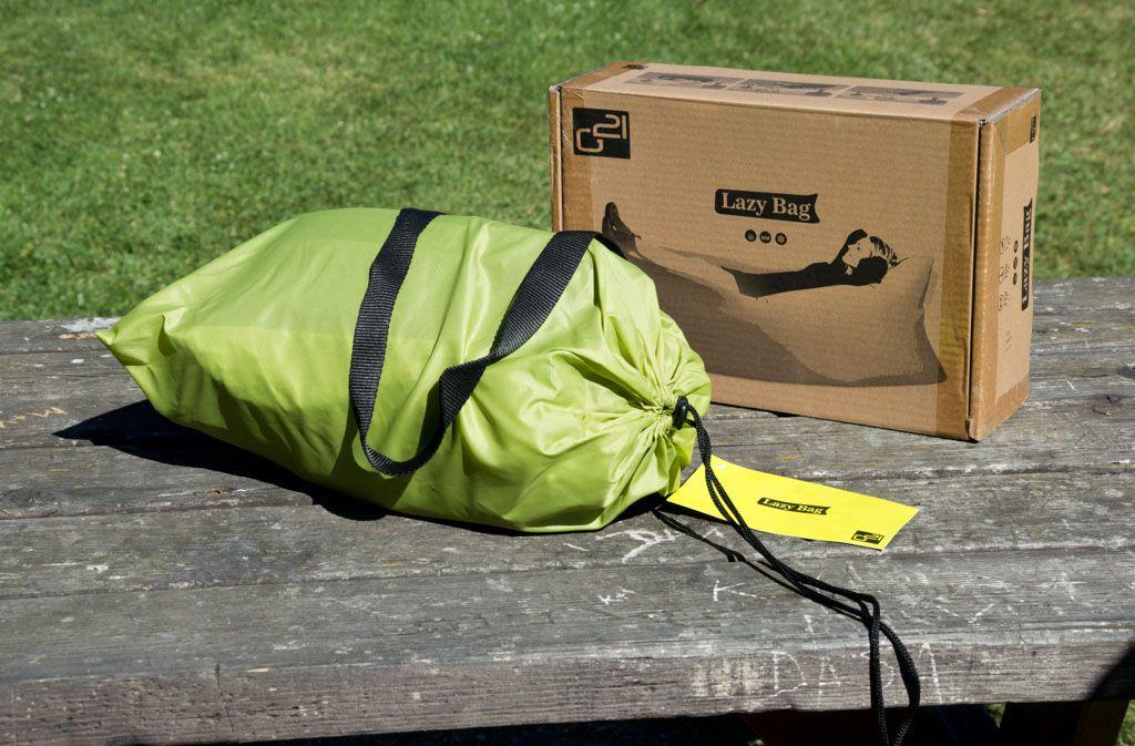 Nafukovací vak G21 Lazy Bag Green