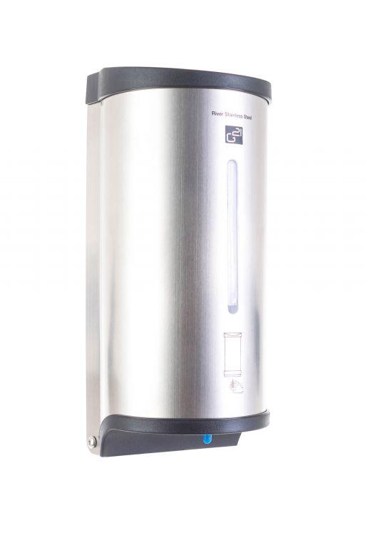 G21 51753 Automatický dávkovač mýdla River, Stainless Steel, 800 ml