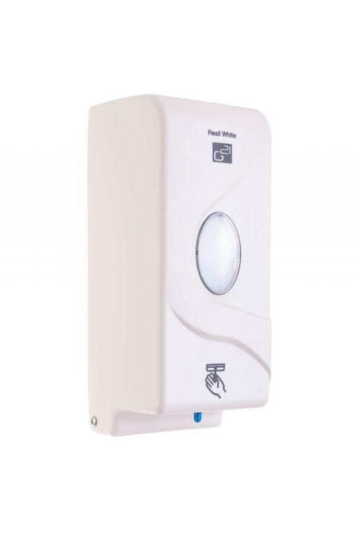 G21 Resil 51754 Automatický dávkovač mýdla White, 800 ml