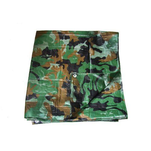 M.A.T. Plachta zakrývací s oky 80g/1m2 2x3m khaki