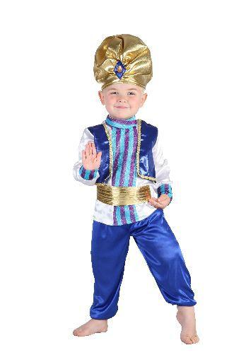 Karnevalový kostým Sultán 92 - 104 cm