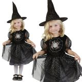 Karnevalový kostým Čarodějka 92 - 104cm