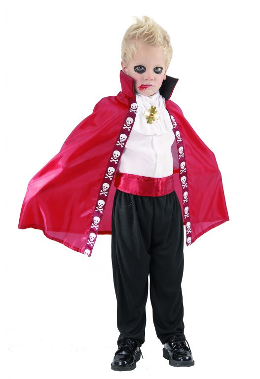 Karnevalový kostým Upír 92 - 104 cm