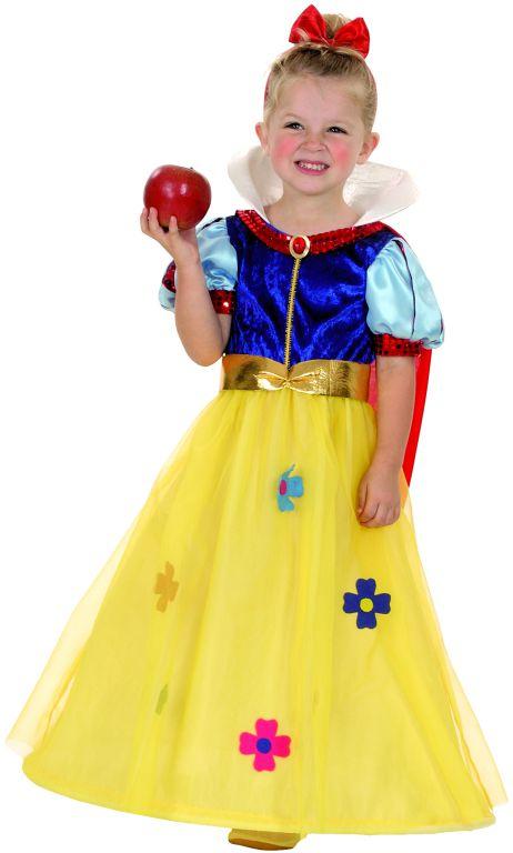 Karnevalový kostým Sněhurka 92 - 104cm