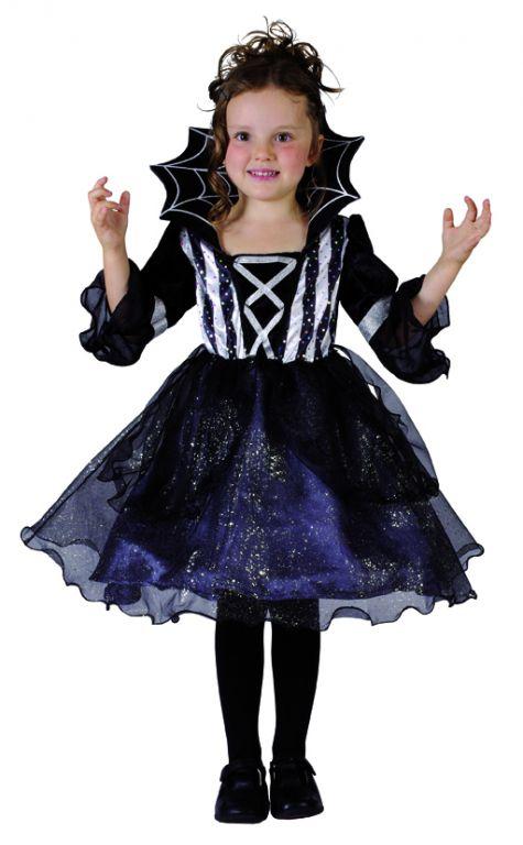 Karnevalový kostým Černokněžnice 92 - 104cm