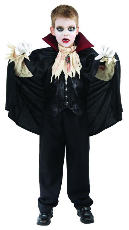 Karnevalový kostým Upír 110 - 120cm
