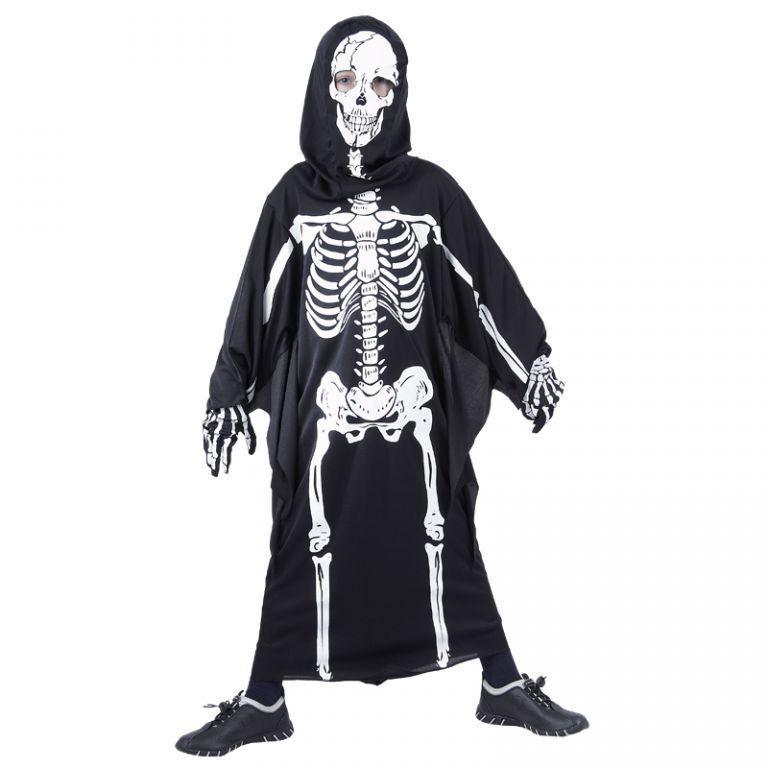 Karnevalový kostým kostra