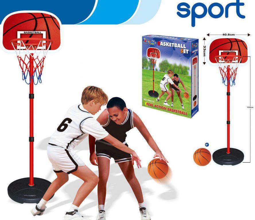 G21 koš na stojanu basketball