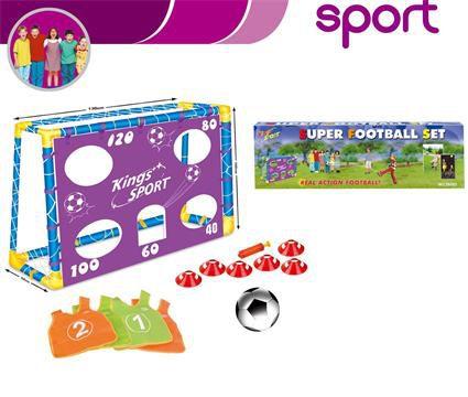Fotbalová branka G21 Super football s příslušenstvím