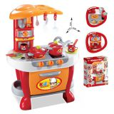 G21 Dětská kuchyňka Malý kuchař s příslušenstvím, oranžová